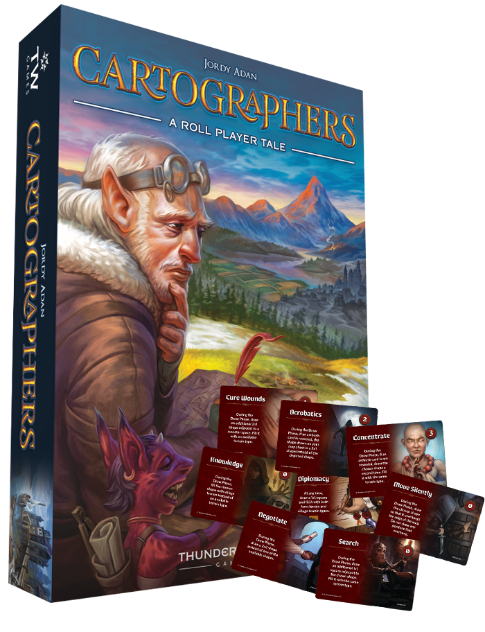 Image of Cartographers: A Roll Player Tale (plus, FREE Skills Mini-Expansion)