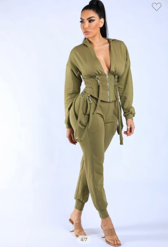 """Image of """"Come Over"""" sweat suit"""
