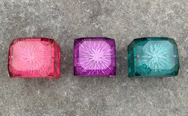 Image of Mini Lucite Boxes (Spiky Series)