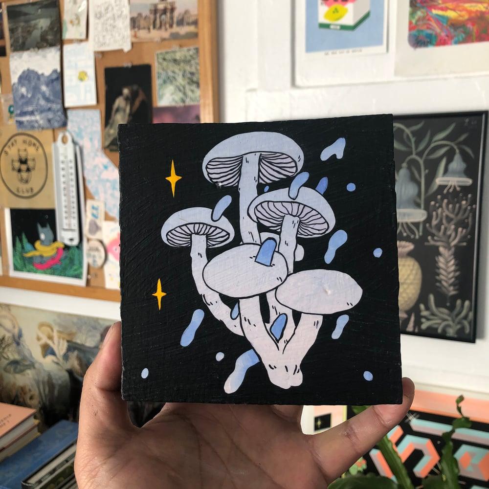 Image of Mushroom + Painting