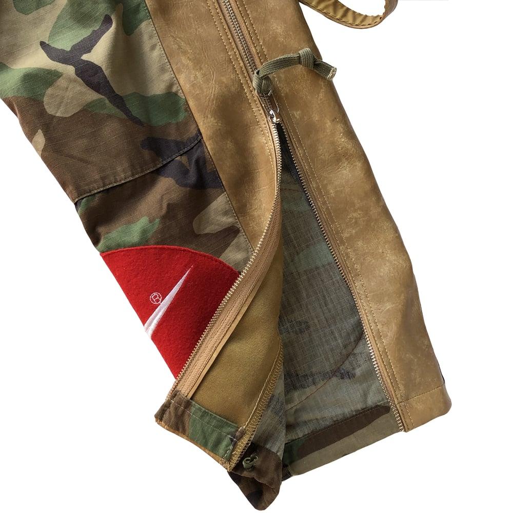 Swoosh Bag Camo Military Pants