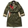Big Swoosh Military Trench Coat