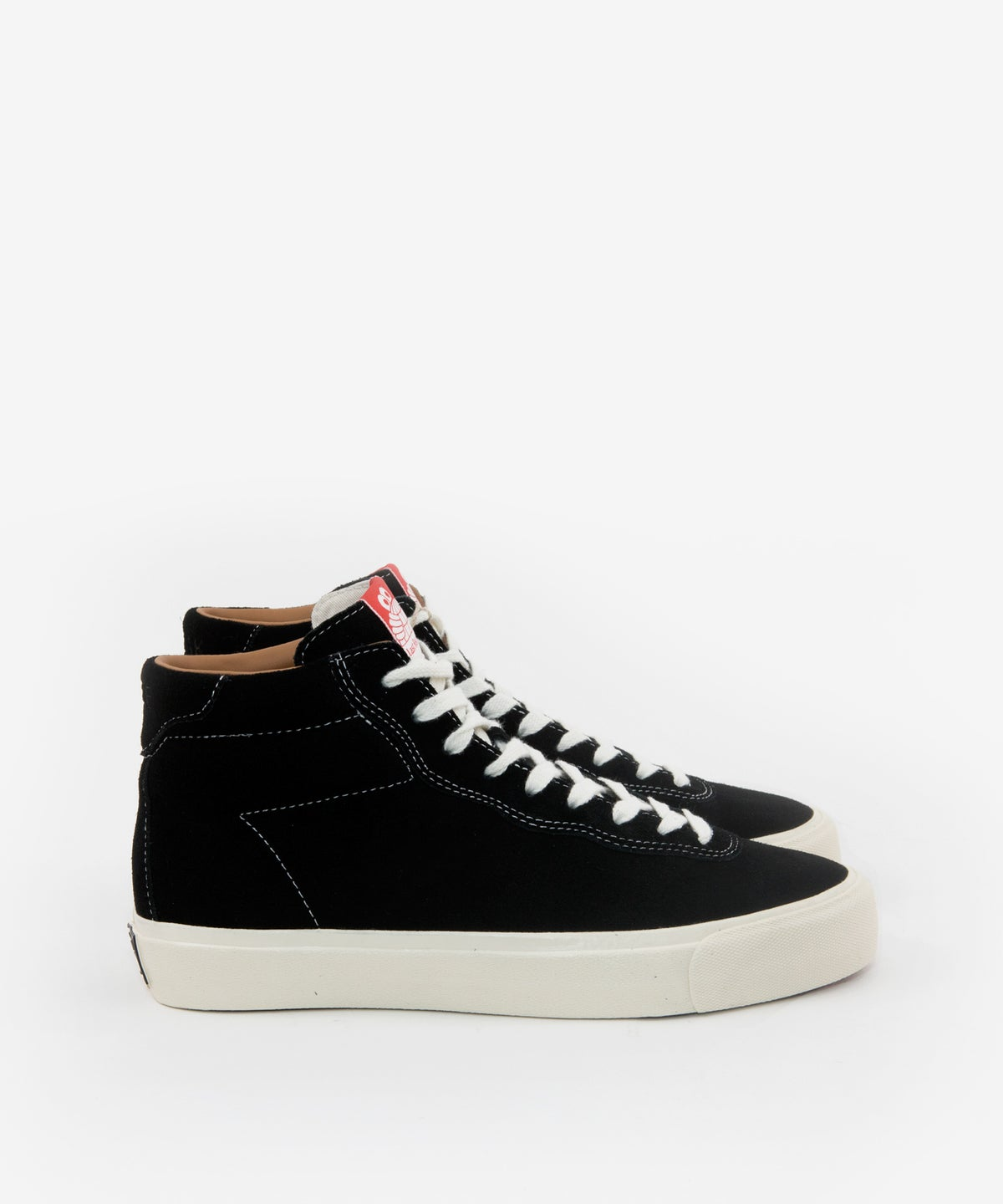 Image of LAST RESORT AB_VM001 SUEDE HI :::BLACK/WHITE:::