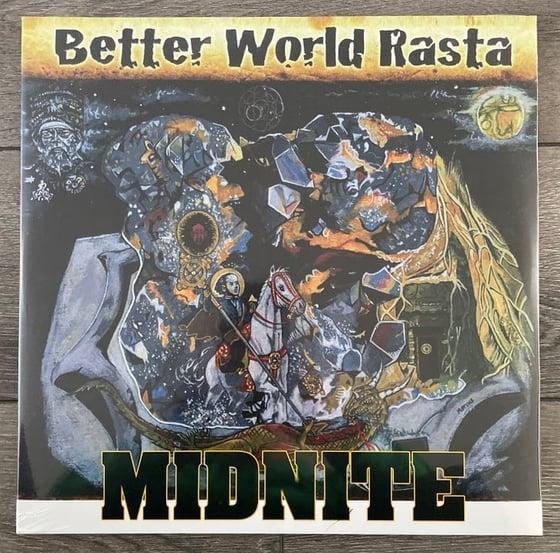 Image of Midnite - Better World Rasta 2xlp Vinyl