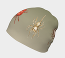 Image 3 of Arachnids beanie hat - green