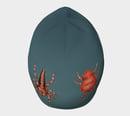 Image 2 of Arachnids beanie hat - Blue