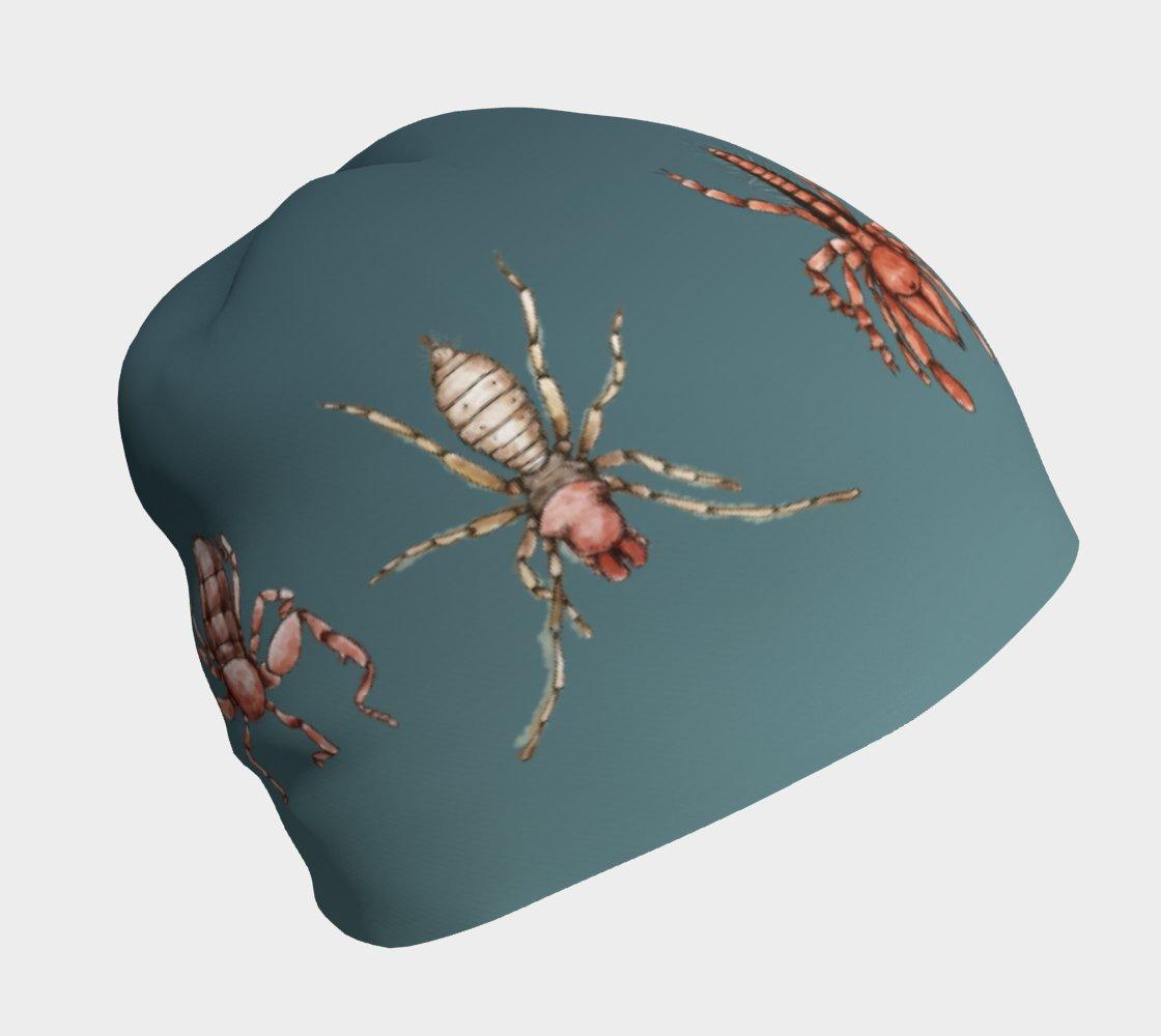 Image of Arachnids beanie hat - Blue