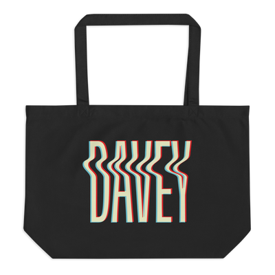 Image of Davey large organic tote bag