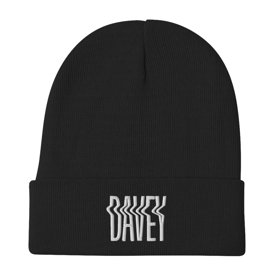 Image of Davey Embroidered Beanie
