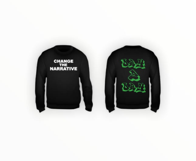 Change The Narrative Sweater