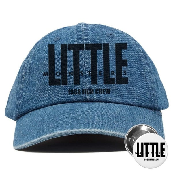 Image of Universe Retro x Hobo Wolfman Collaboration Little Monsters Jean Hat w/ Button
