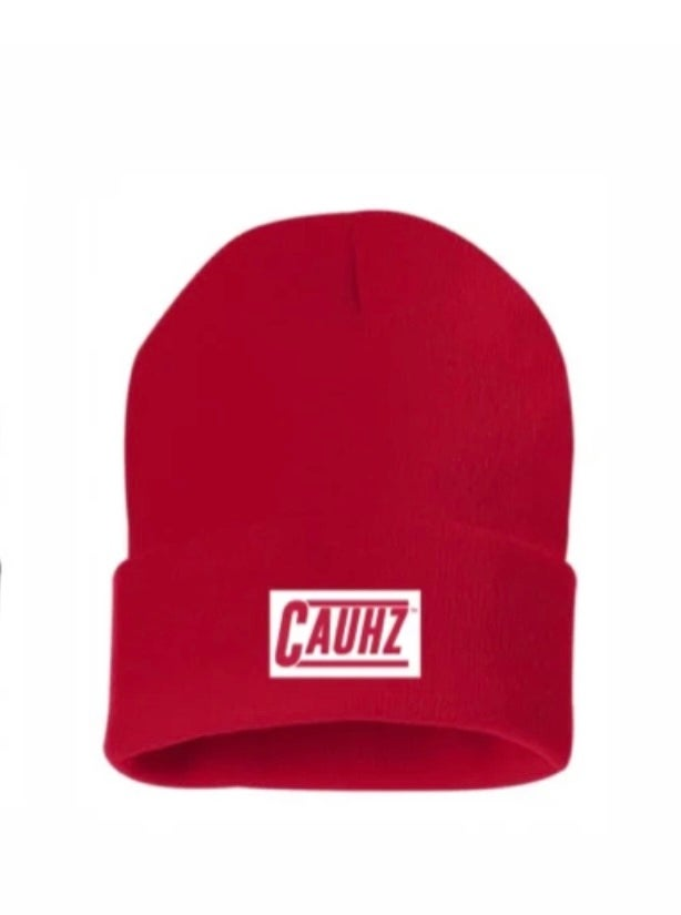 CAUHZ™️ RED LOGO STITCHED BEANIES