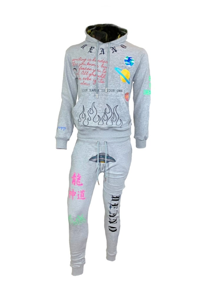 Image of MM02 Bad Space Sweatsuit Grey