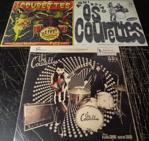 Image of BUNDLE OFFER.  3 X album. The Courettes.