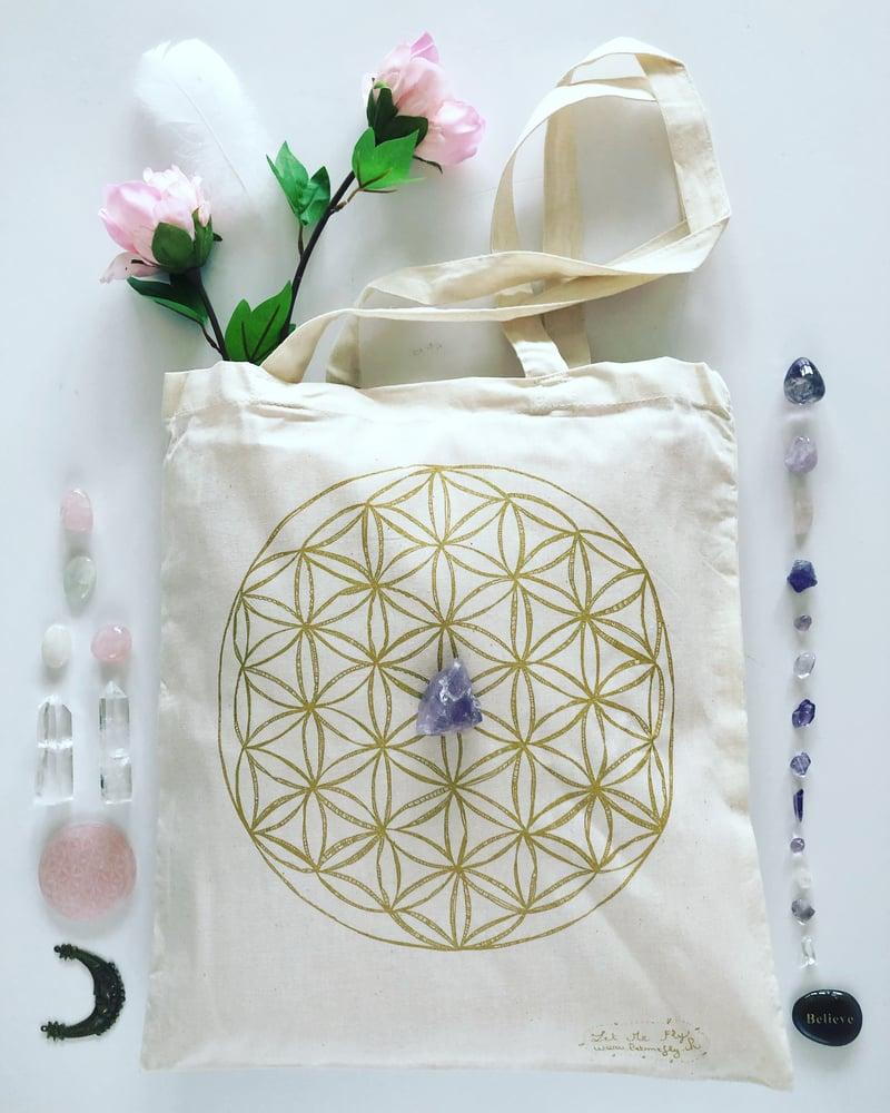Image of  Tote Bag *Fleur de Vie*