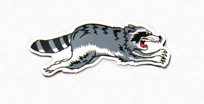 Image of Triumph Trash Cat Sticker (Right Facing)