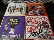 Image of BUNDLE OFFER.  4 X LP : MFC Chicken. €50.00