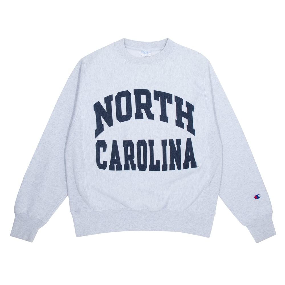 Image of Champion Vintage North Carolina Crewneck Size S