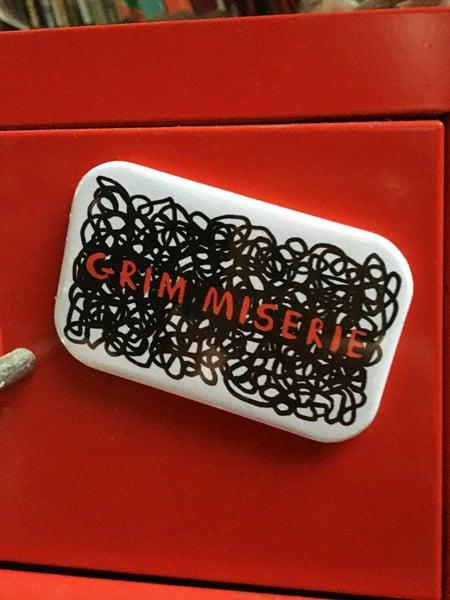 Image of Grim Miserie - magnets for mental health