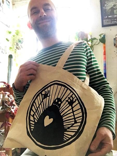 Image of Matthew Robins ROBOT tote-bag
