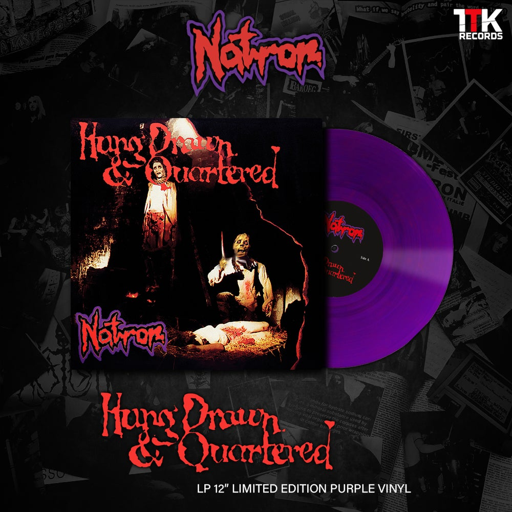 NATRON - Hung Drawn & Quartered - Solid Purple