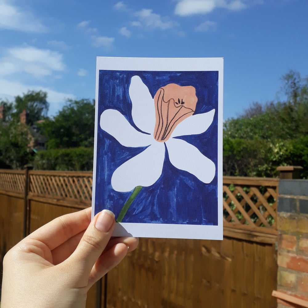 Image of Daffodil Postcard