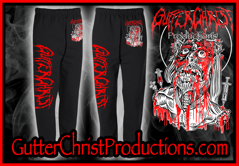Image of GUTTER CHRIST SWEAT PANTS (IN STOCK)