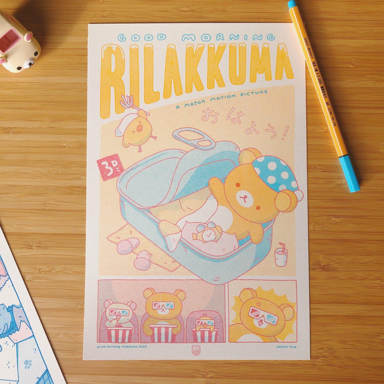 Image of RILAKKUMA RISO PRINT