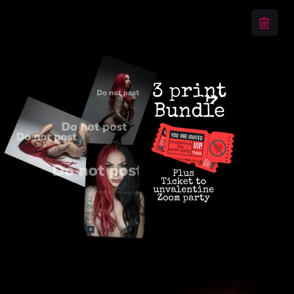 Image of 3 print bundle #2