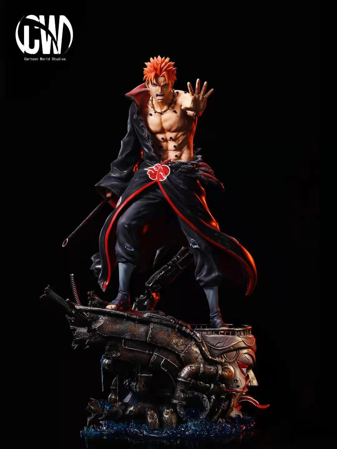 Image of [Early-Bird][Pre-Order]Naruto CW Studio Battle Damaged Series Vol.3 Pain Resin Statue