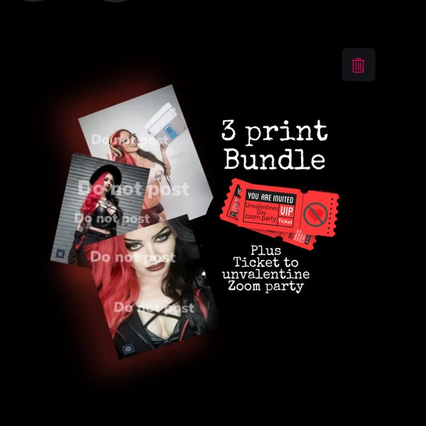 Image of 3 print bundle