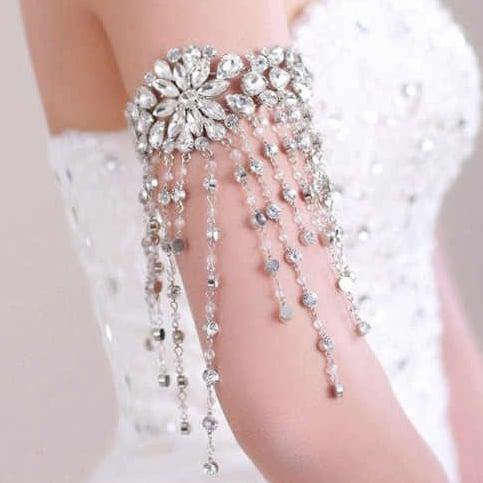 Image of Crystal Armlet, arm bracelet