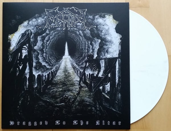 Image of FERAL - Dragged To The Altar (LP; white vinyl, lim. 100)