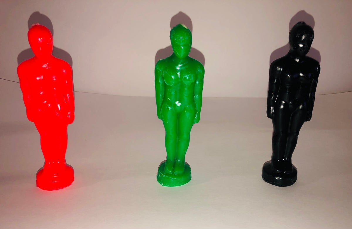 Image of Men Figure Candles