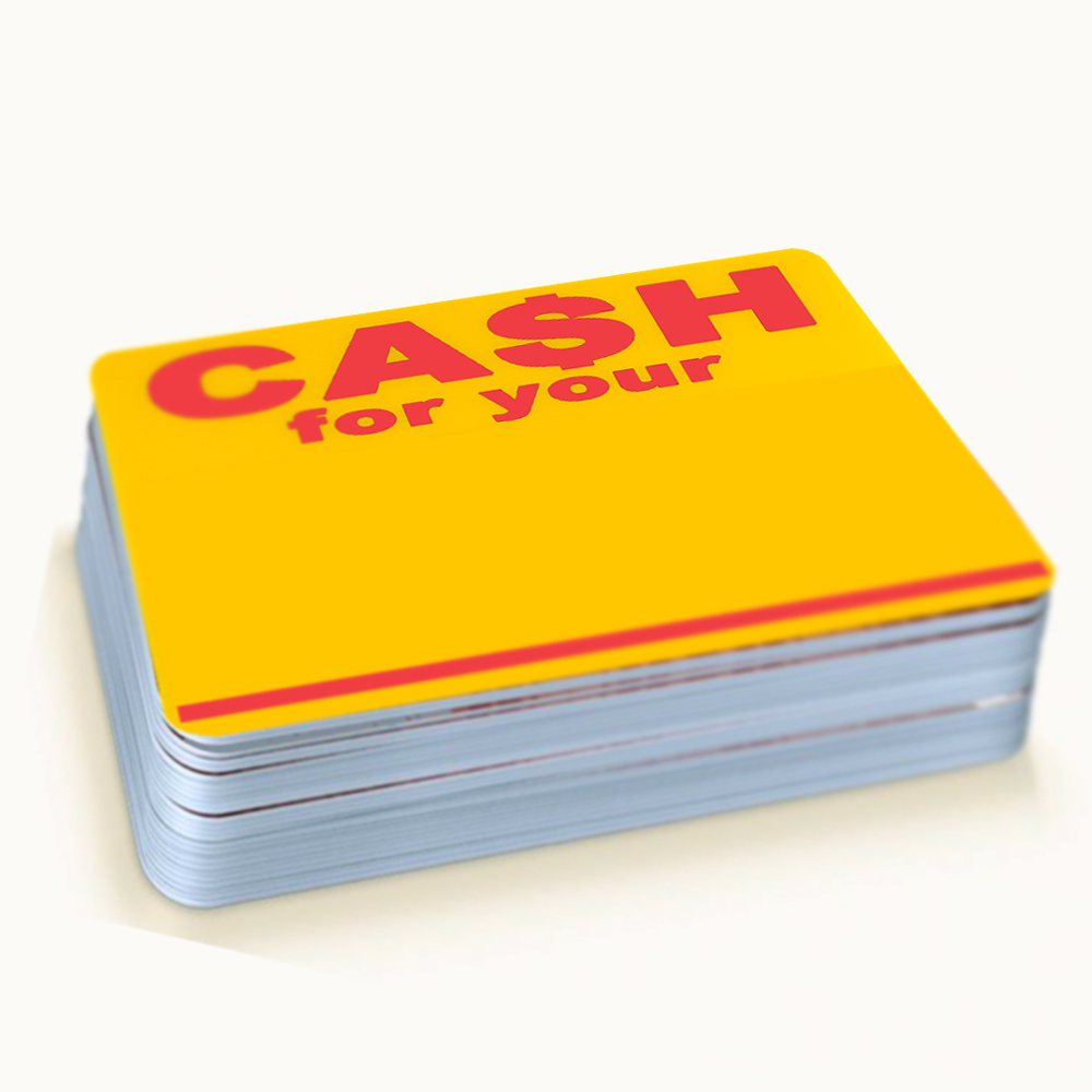 Image of Cash For Your Blanks