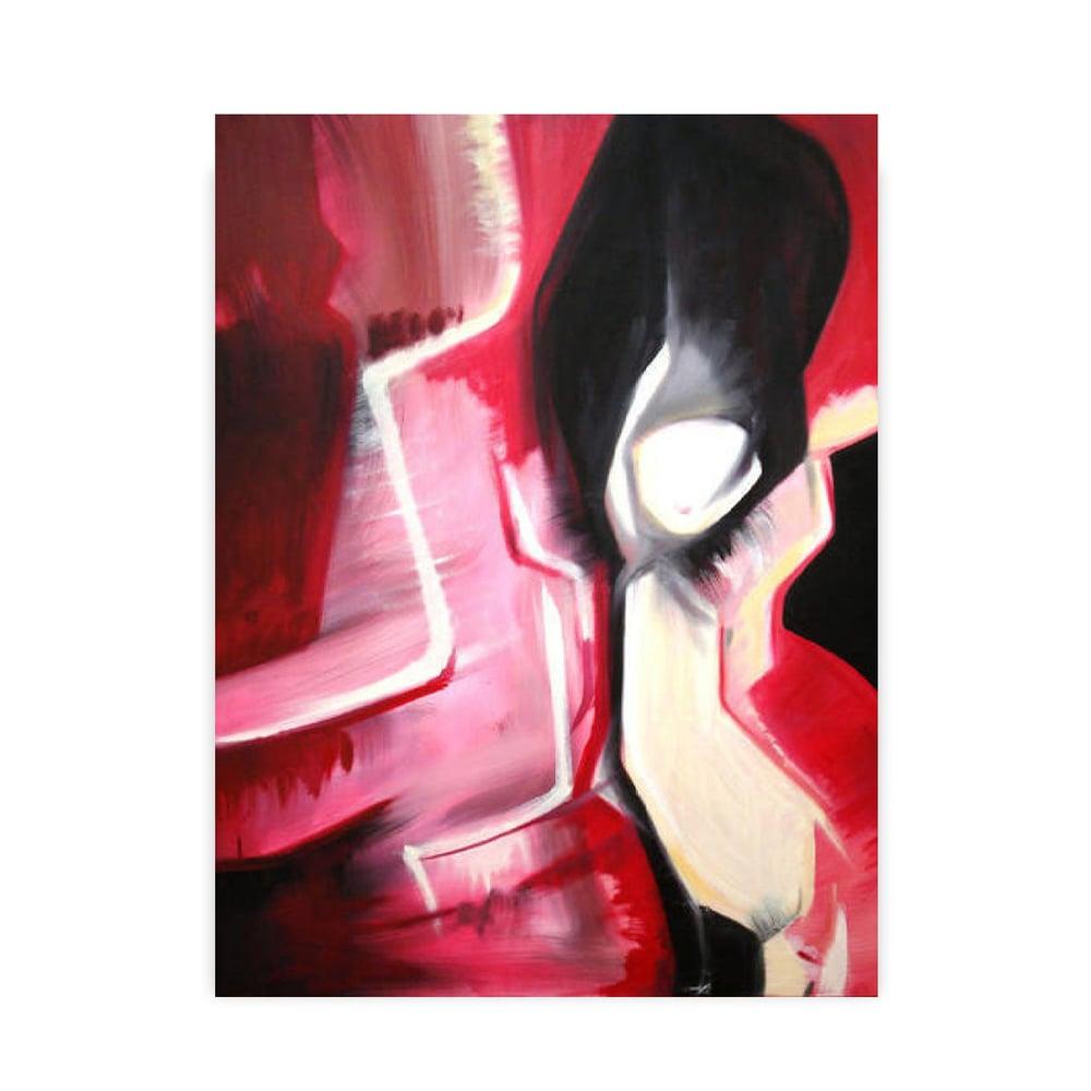Image of Voyeur II - Acrylic on Canvas - Original Abstract Painting