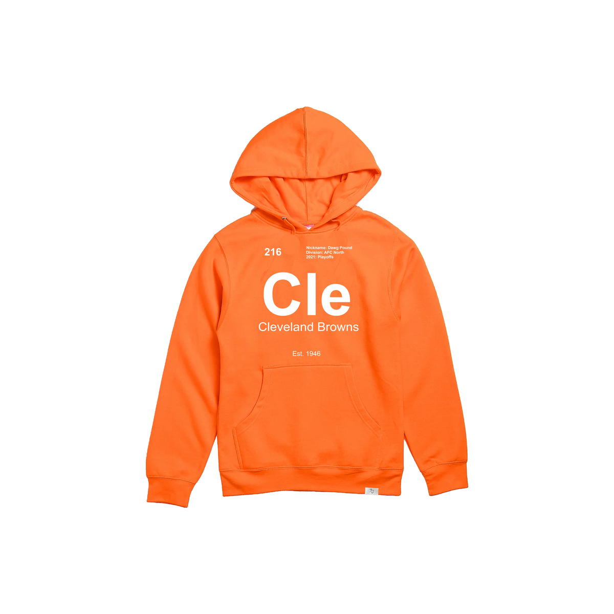 Browns Element Orange Hoodie