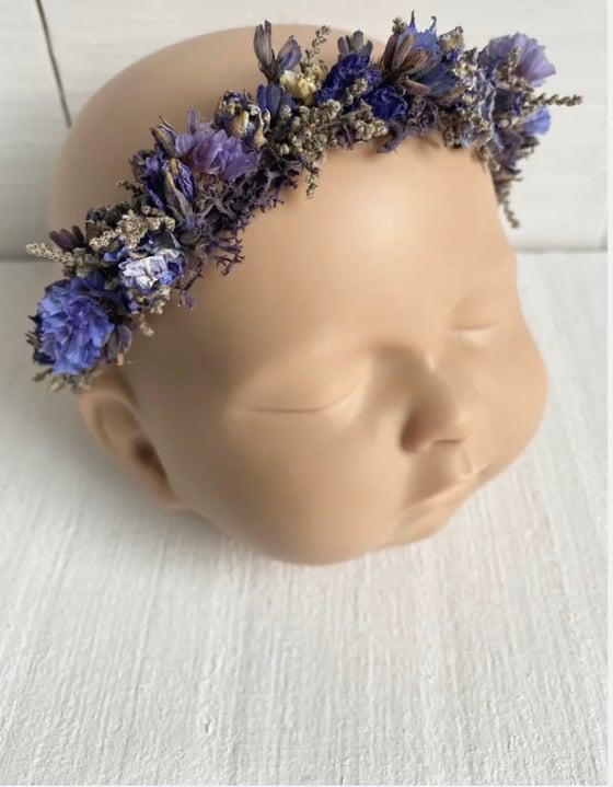 Image of Lavender crown - newborn