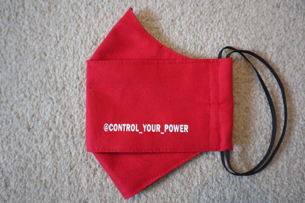 """Control Your Power"" 3D Masks"