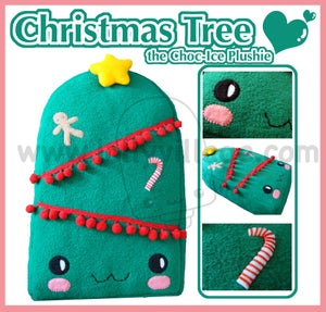 Image of Christmas Tree the Choc-Ice Plushie
