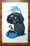 THEO  | Hand Pulled Relief Print