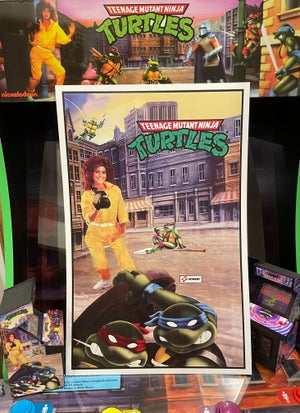 Image of Classic Arcade Cabinet Print