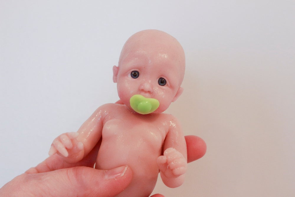 "Image of Heart Pacifier for 6-7"" Doll"