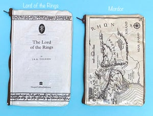 Image of Lord of the Rings Book Page Pencil Cases