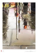 Image of 'London Puddles' - Limited edition signed print