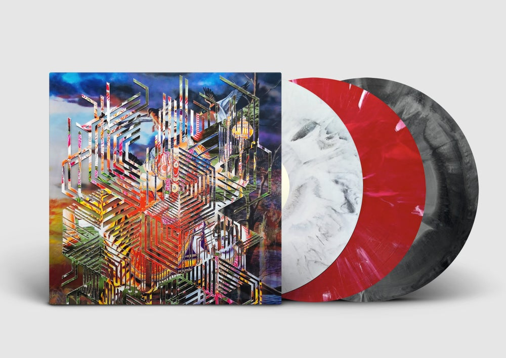 Image of King Gizzard & The Lizard Wizard - 3xLP Live in Brussels '19 (3D flip Lenticular artwork)