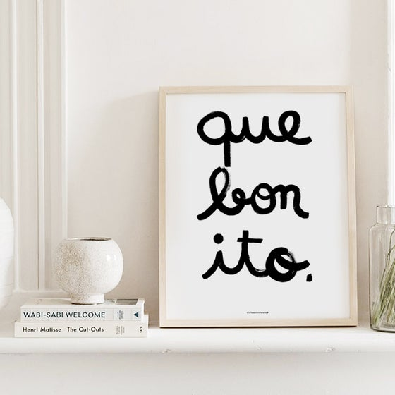 Image of QUE BONITO ILLUSTRATION