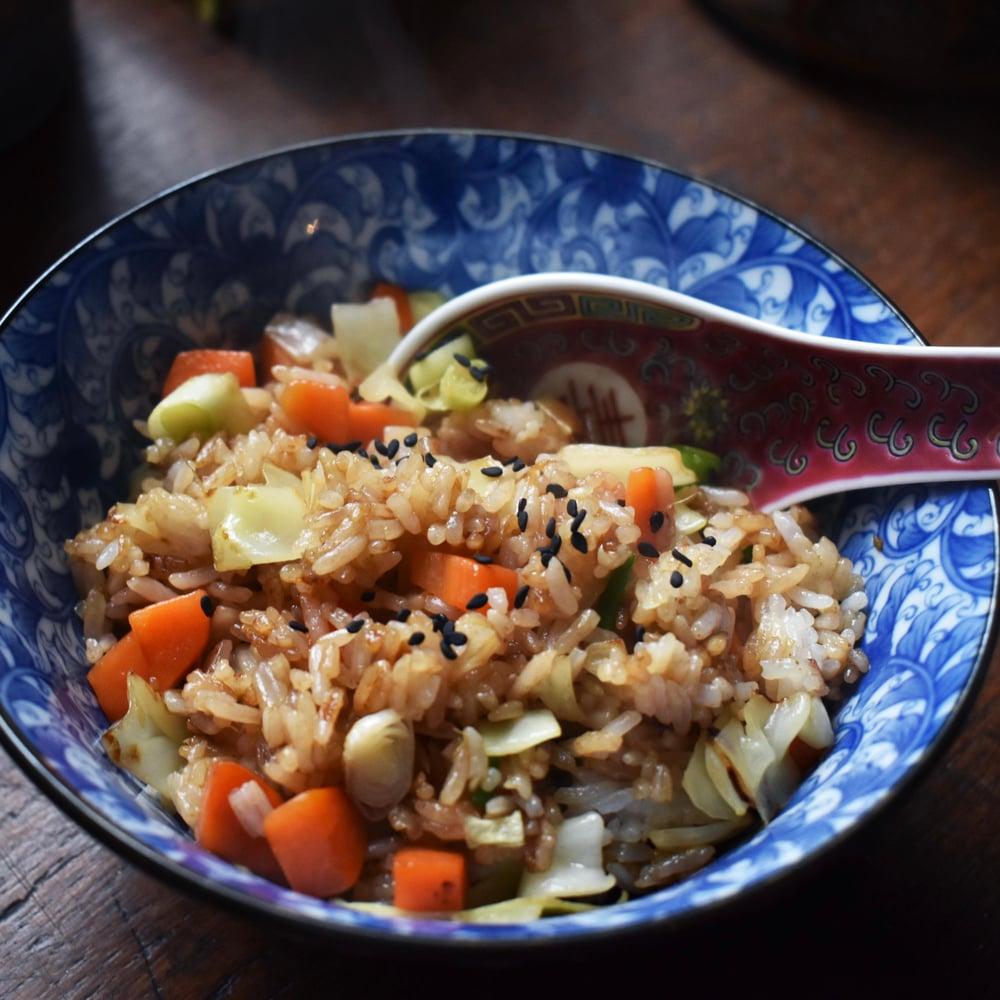 Image of Blow Water Kids vegan fried rice 小童飯