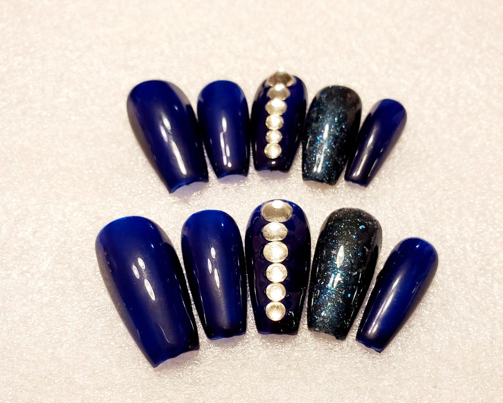 Image of Medium Coffin-Bling Me (Set 4)