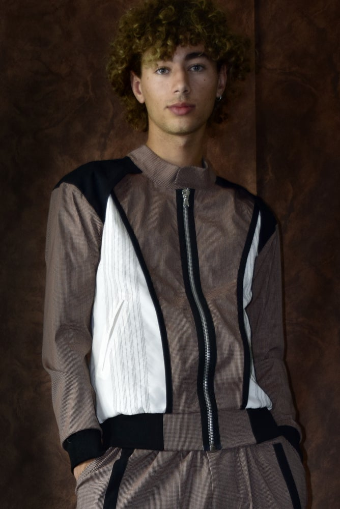 Image of SS21 - LAYERED VARSITY JACKET